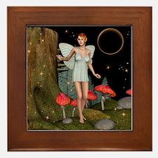 Fairy Butterfly Framed Tile