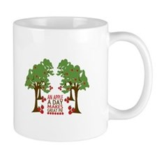 An Apple A Day Makes Great Pie Mugs