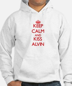 Keep Calm and Kiss Alvin Hoodie