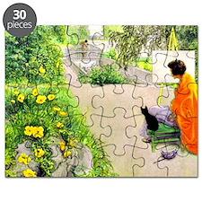 Carl Larsson, The Bridge Puzzle