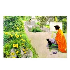 Carl Larsson, The Bridge Postcards (Package of 8)