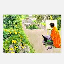 Carl Larsson, The Bridge Postcards (Package of 8)