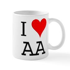 I Love AA Mug