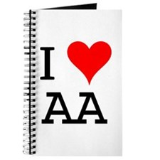 I Love AA Journal