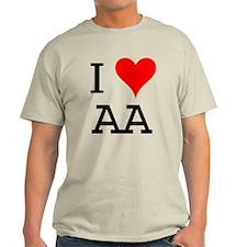 I Love AA T-Shirt