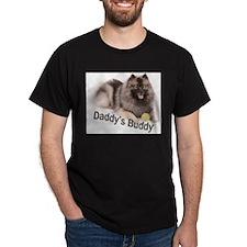 Keeshond Daddys Buddy T-Shirt