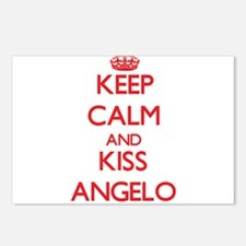 Keep Calm and Kiss Angelo Postcards (Package of 8)