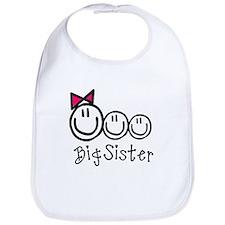Big Sis of Three Bib