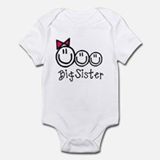Big Sis of Three Infant Bodysuit