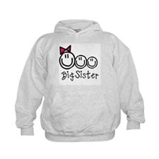Big Sis of Three Hoodie