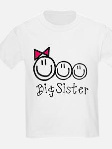 Big Sis of Three T-Shirt