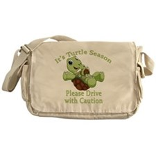 Turtle Season Messenger Bag