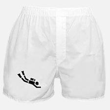 Scuba Diving sports Boxer Shorts