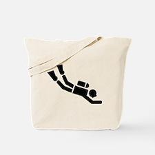 Scuba Diving sports Tote Bag