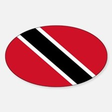 Trinidad and Tobago Oval Decal