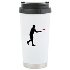 Disc golf player Travel Mug