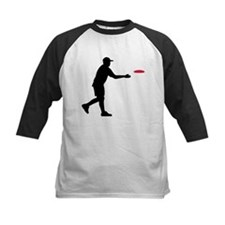 Disc golf player Tee