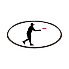 Disc golf player Patches