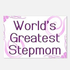 World's Greatest Stepmom Postcards (Package of 8)