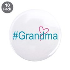 "Hashtag Grandma 3.5"" Button (10 pack)"