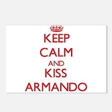 Keep Calm and Kiss Armando Postcards (Package of 8