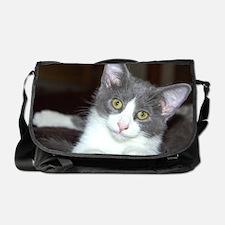 Cute Grey Messenger Bag