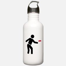 Disc golf player Water Bottle