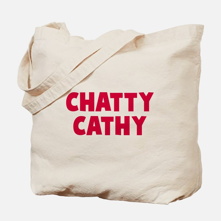 CHATTY Tote Bag