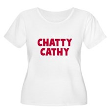 CHATTY Plus Size T-Shirt