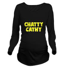 CHATTY Long Sleeve Maternity T-Shirt