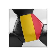 Belgium Soccer Ball Sticker