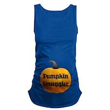 Pumpkin Smuggler Maternity Tank Top