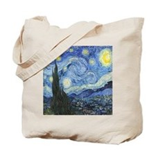 Van Goghs Starry Night Tote Bag