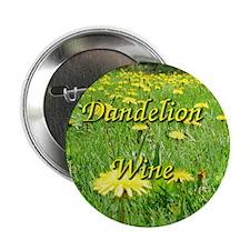 Dandelion Wine Button 1