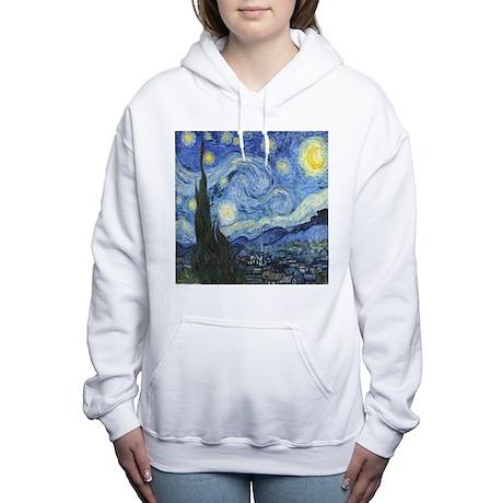 Van Goghs Starry Night Women's Hooded Sweatshirt