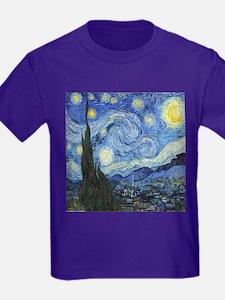 Van Goghs Starry Night T-Shirt