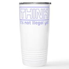 think.png Travel Mug