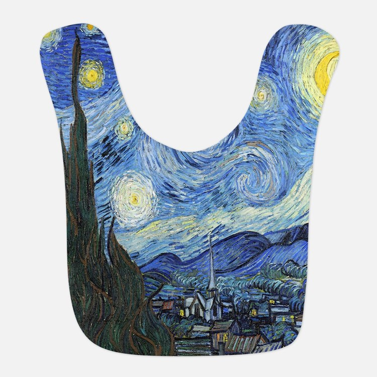 Van Goghs Starry Night Bib