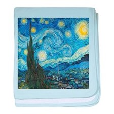 Van Goghs Starry Night baby blanket
