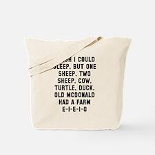Wish Sleep Tote Bag