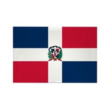 The Dominican Republic Rectangle Magnet