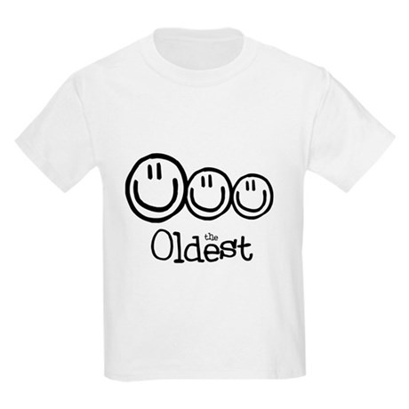 The Oldest (3) Kids Light T-Shirt