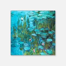 Water Lilies by Monet Sticker