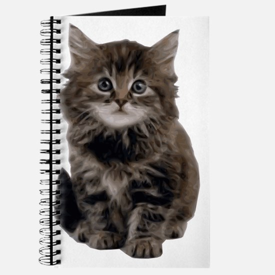 Adorable  cute kitty Journal