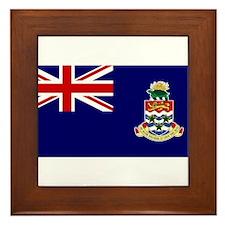 The Cayman Islands Framed Tile