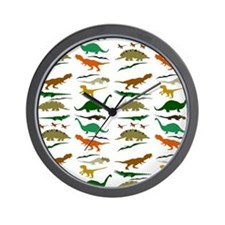 Dinosauria Wall Clock