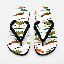 Dinosauria Flip Flops