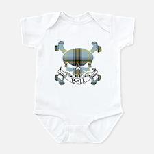 Bell Tartan Skull Infant Bodysuit