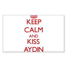 Keep Calm and Kiss Aydin Decal