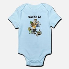 Funny dad to be Body Suit